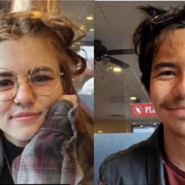 Sophia Edwards and Ethan Manzano (right) are seen in images provided by the Los Angeles County Sheriff's Department.