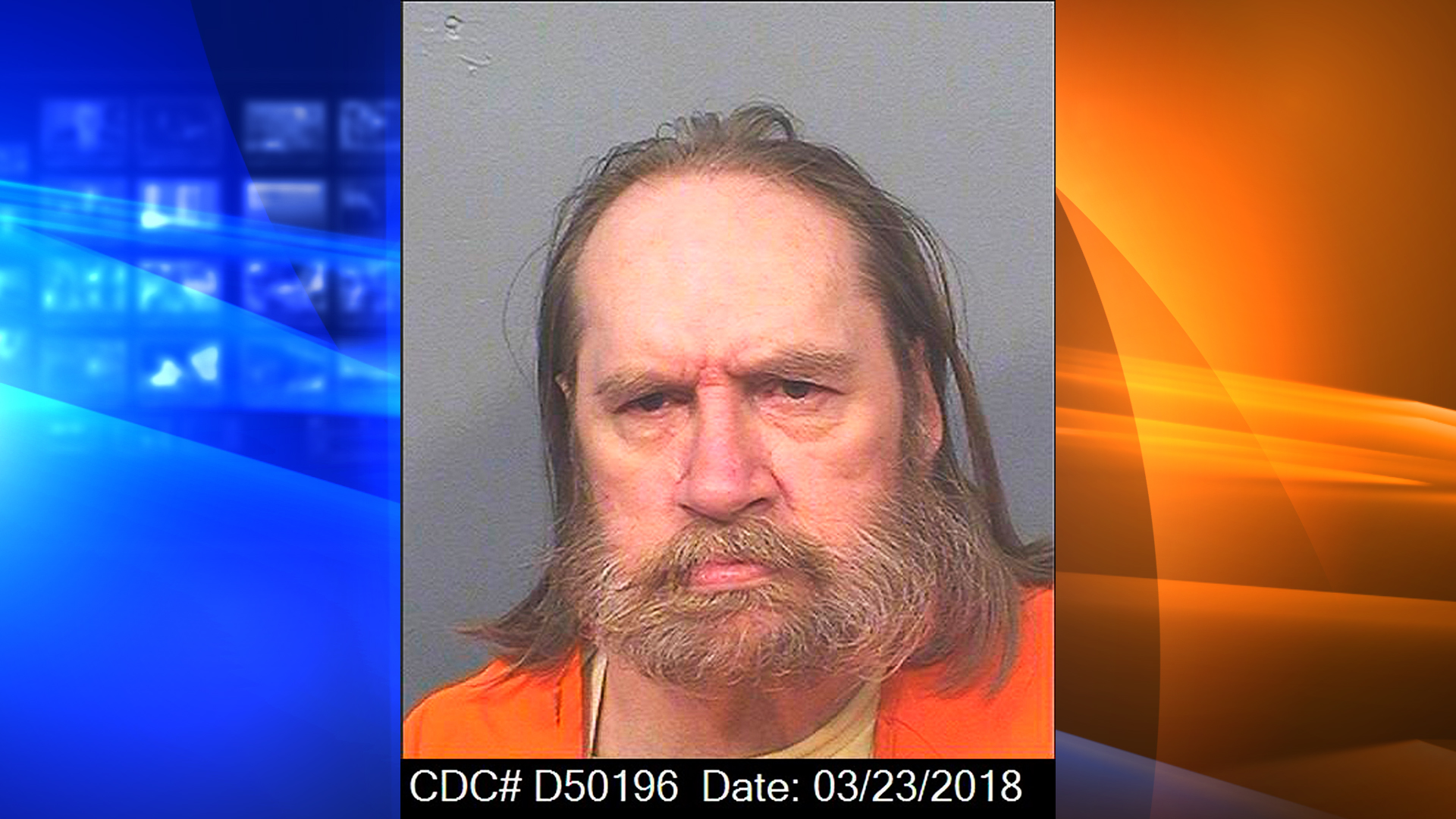 This March 28, 2018 photo released by the California Department of Corrections and Rehabilitation shows Donald R. Millwee.