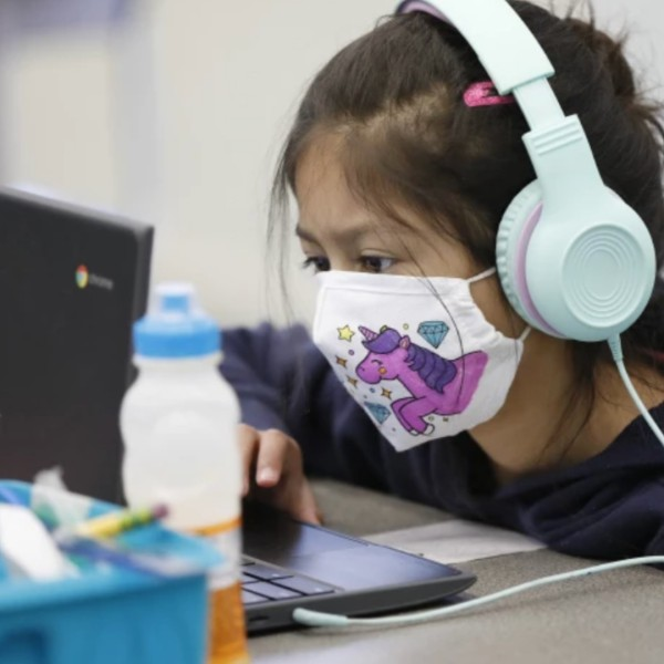 California students won't be allowed on campus in the fall if they refuse to wear masks, under state guidelines released Monday,(Al Seib / Los Angeles Times)