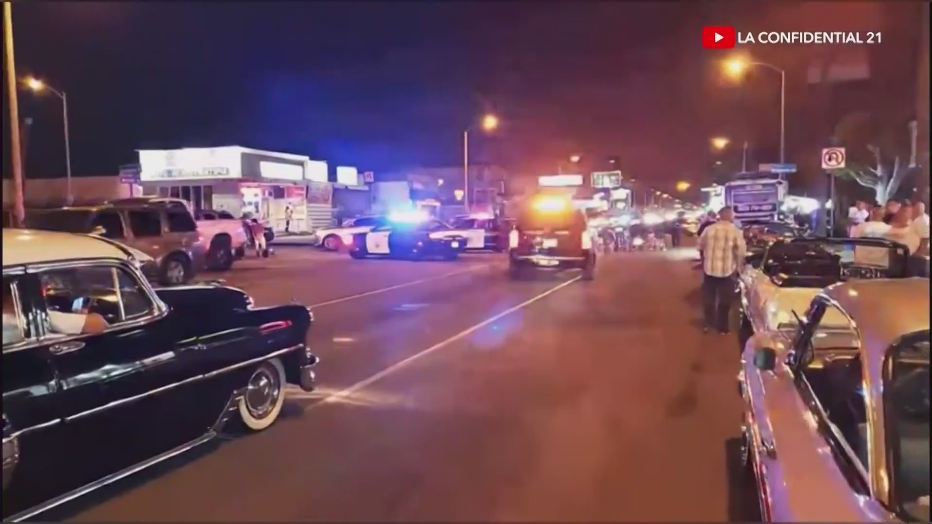 A teenager is still recovering after allegedly being hit by a CHP officer in East L.A. in a hit-and-run.