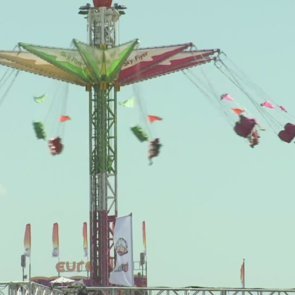 A carnival ride is seen at the Orange County Fair in this file image. (Orange County Fair)