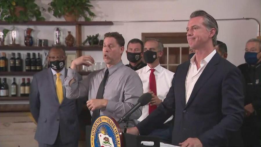 Newsom signs bill to combat crime, retail theft across California