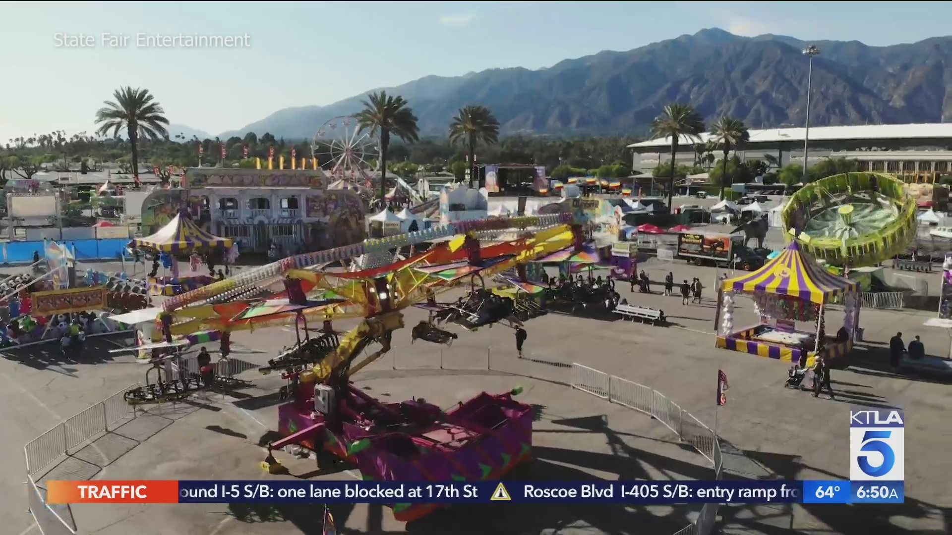 The Official Summer Fair of L.A. kicked off Thursday, July 29, 2021. (State Fair Entertainment)