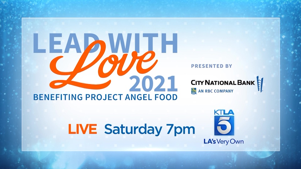 KTLA 5 is holding a live telethon event supporting Project Angel Food, thanks to our partners City National Bank. The event, scheduled for July 17, 2021, will be hosted by KTLA's Jessica Holmes and other special celebrity co-hosts throughout the night, with special appearances from Gloria Estefan, Eric McCormack, Vanessa Williams and many more.