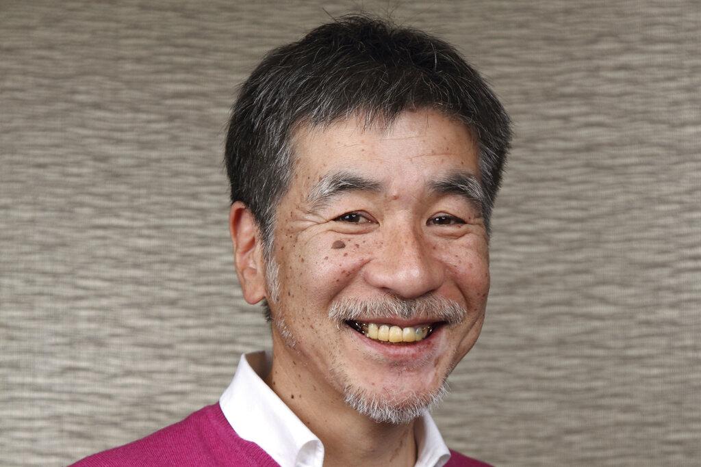 This undated photo provided by NIKOLI, shows Maki Kaji, chief executive of the company until July, 2021, in Tokyo, Japan. (NIKOLI via AP)