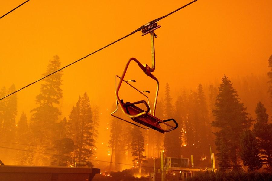 Lake Tahoe communities under immediate, mandatory evacuation order as Caldor Fire grows