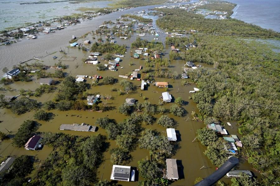Hurricane Ida leaves Louisiana communities with no power, no flights, scant drinking water