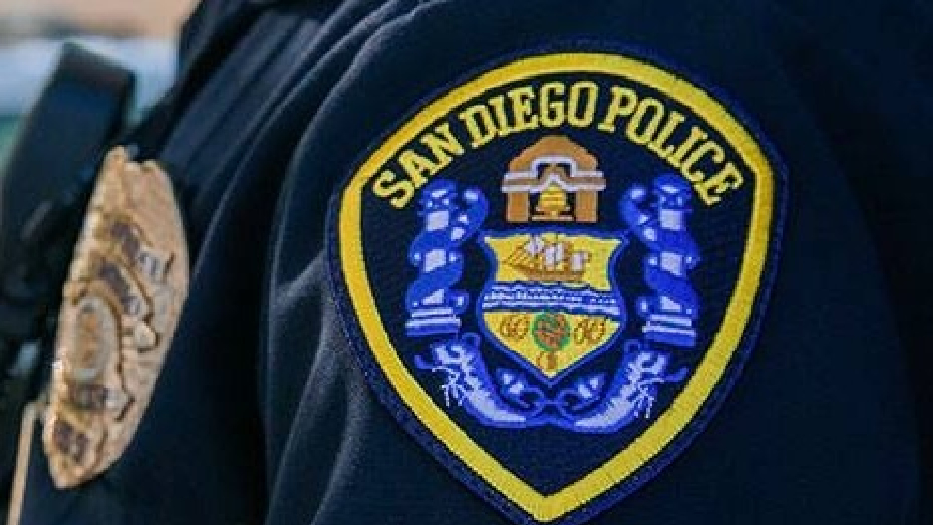 This undated file photo shows the San Diego Police Department's uniform patch. (SDPD/Facebook)