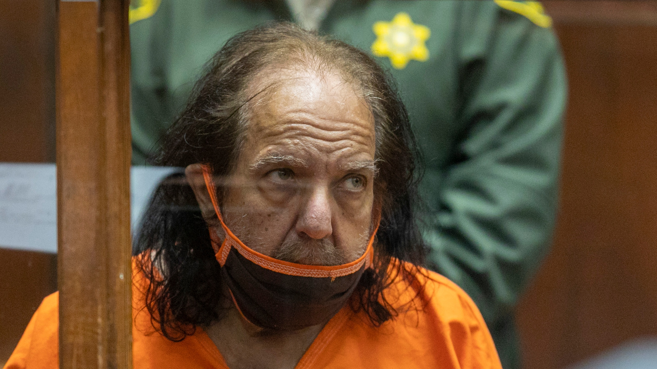 Adult film star Ron Jeremy appears for arraignment on rape and sexual assault charges at Clara Shortridge Foltz Criminal Justice Center on June 26, 2020, in Los Angeles, California. (David McNew/Getty Images)