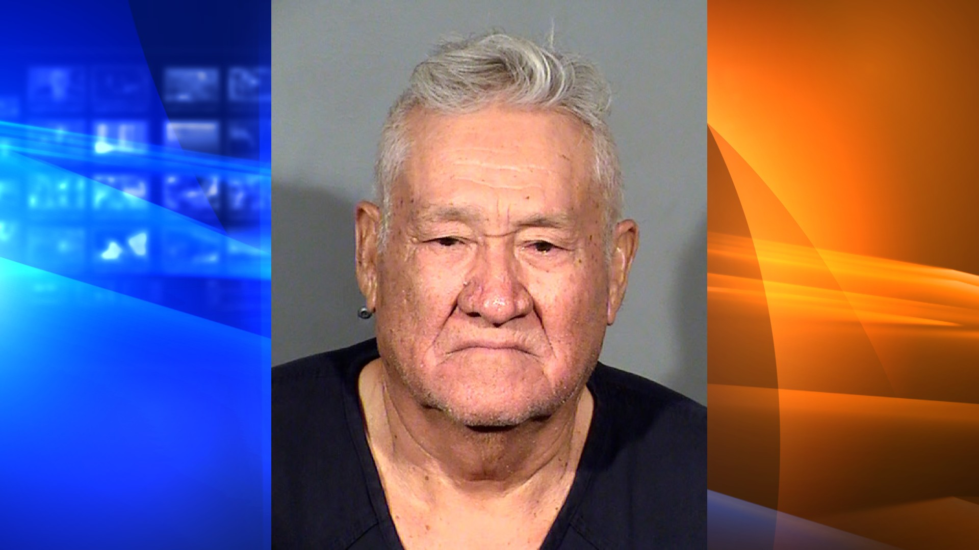 This booking photo from the Clark County Detention Center, in Las Vegas, shows Arnoldo Lozano-Sanchez following his arrest Tuesday, Aug. 10, 2021. Police say that landlord Lozano-Sanchez argued with his live-in tenants over unpaid rent before opening fire with a gun in a small house near downtown Las Vegas, killing two women and shooting a man nine times. The male tenant survived. (Clark County Detention Center via AP)