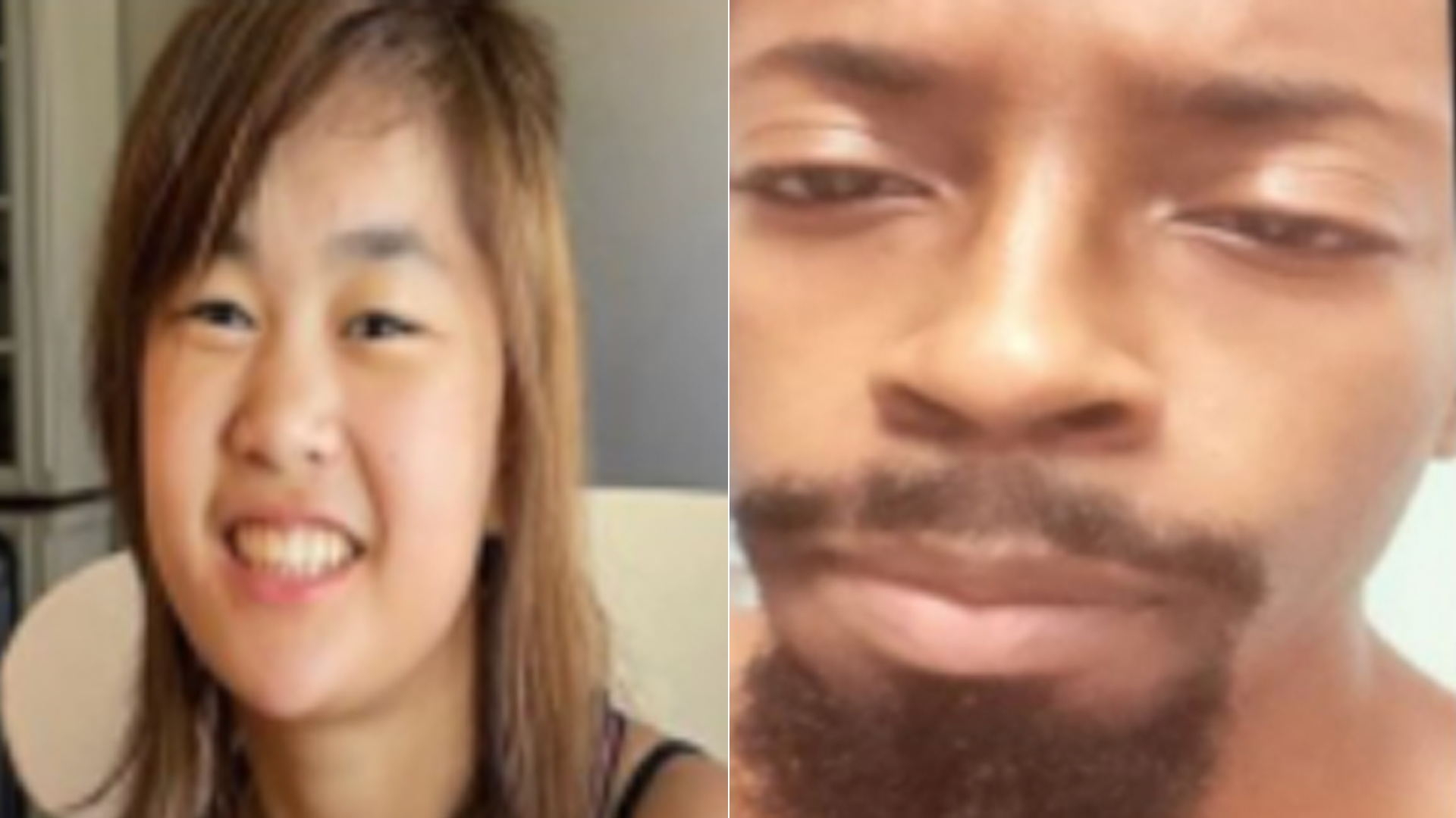 Phoebe Carreon and Nathan Williams are shown in photos provided by the Orange County Sheriff's Department on Aug. 27, 2021.