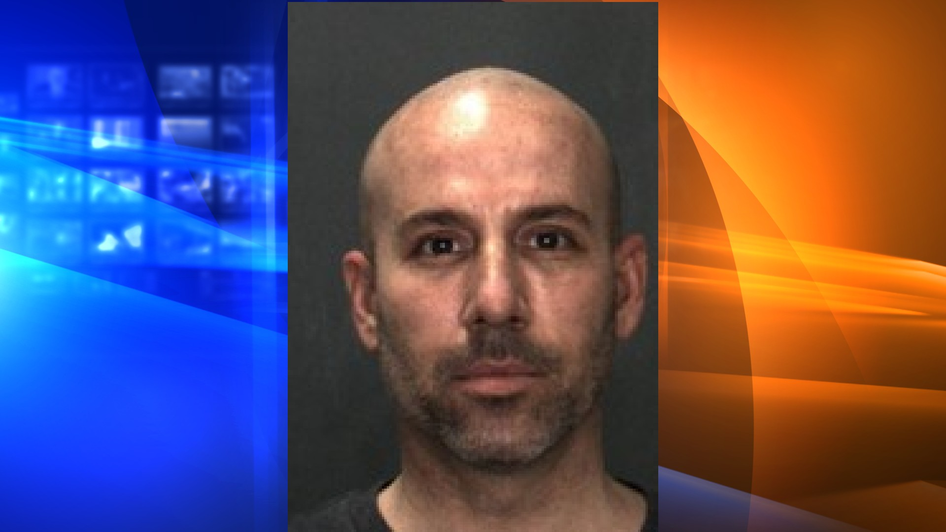 Ryan Rickett, 42, was arrested on suspicion of soliciting sexual acts with a minor in Rancho Cucamonga. (Rancho Cucamonga Police Department)