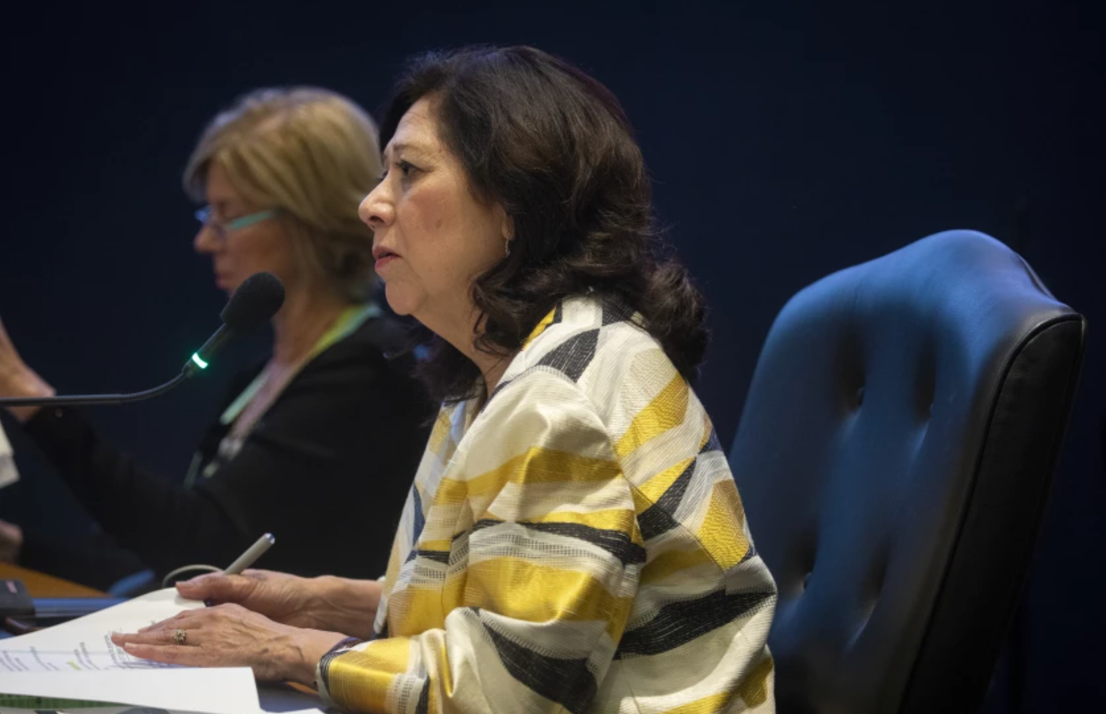 Los Angeles Board of Supervisor Hilda Solis wrote a motion that allows the county to begin hiring immigrants without citizenship as county department heads along with other positions when state and federal law doesn't mandate citizenship.(Francine Orr/Los Angeles Times)