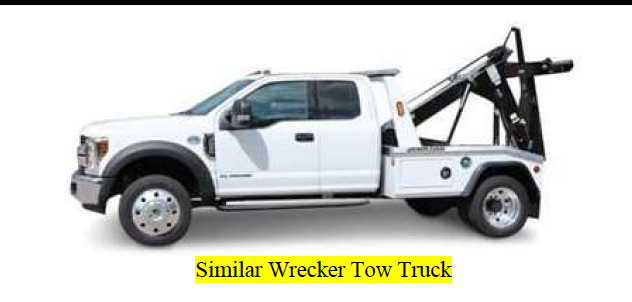 A similar truck than the one involved in the fatal crash is seen in a rendering released by the LAPD on Aug. 12, 2021.