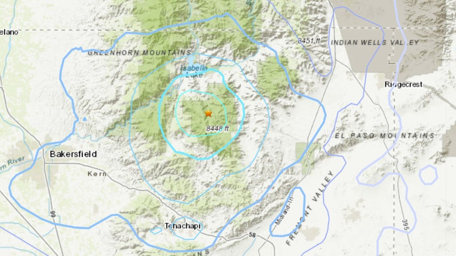 3.9 magnitude quake strikes near Bakersfield