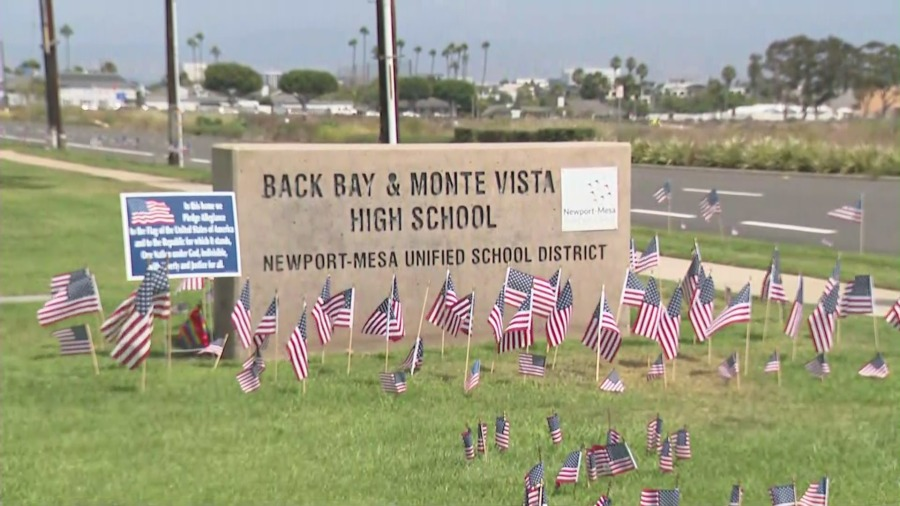 O.C. teacher investigated after joking about pledging allegiance to pride flag instead of American