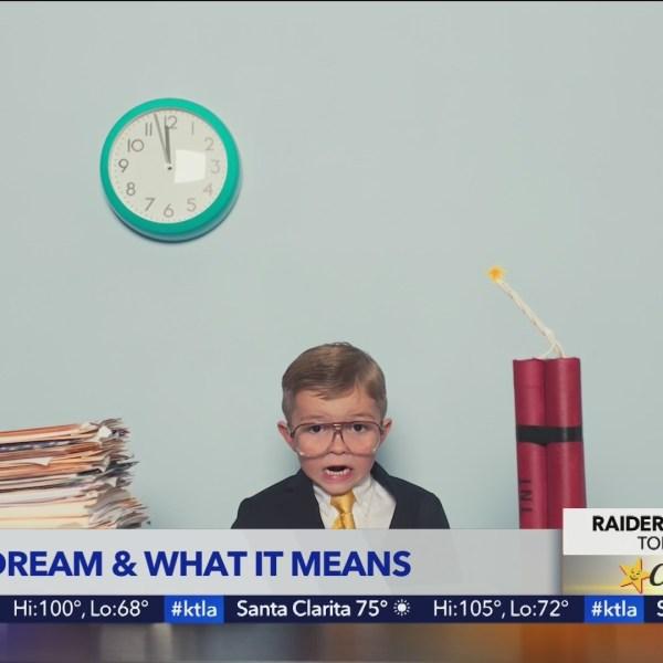 Dream expert Lauri Loewenberg interprets the dreams of the KTLA Weekend team