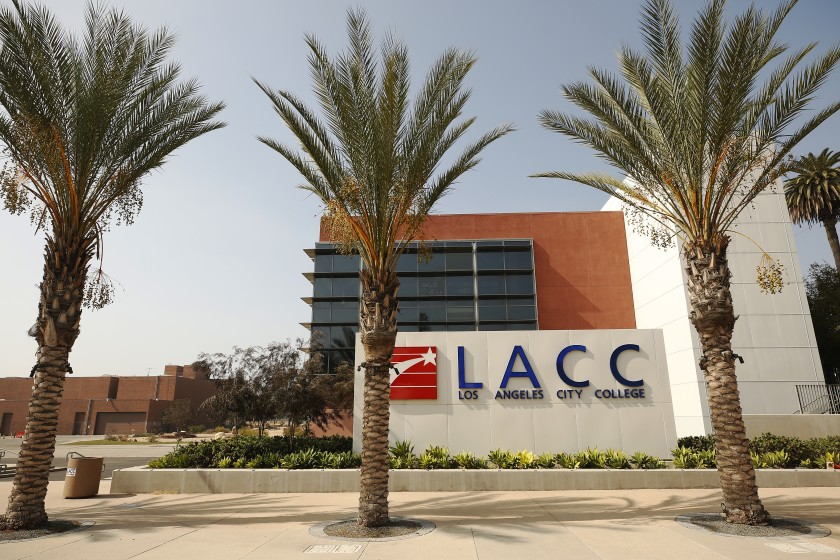 Los Angeles City College is seen in a file photo. (Al Seib / Los Angeles Times)