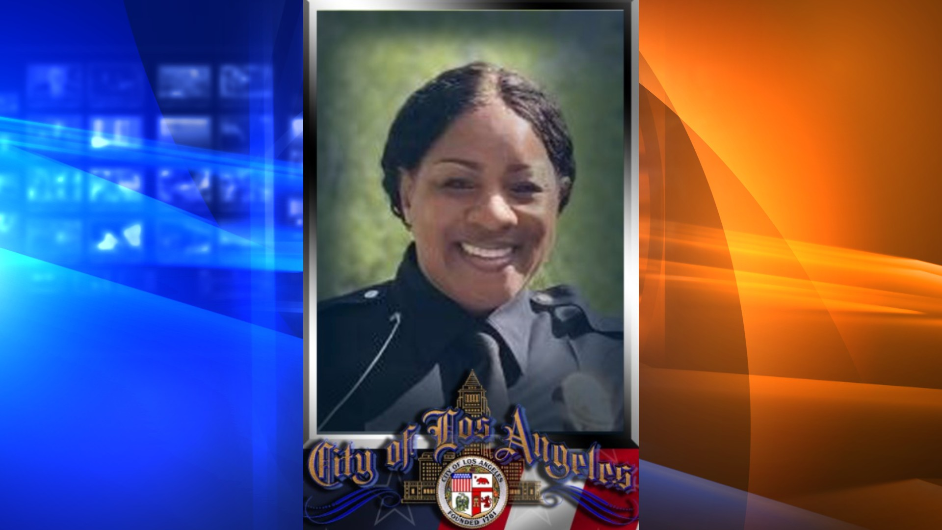 The LAPD shared a photo of Officer Becky Strong, who died from COVID-19 complications on Aug. 2, 2021.