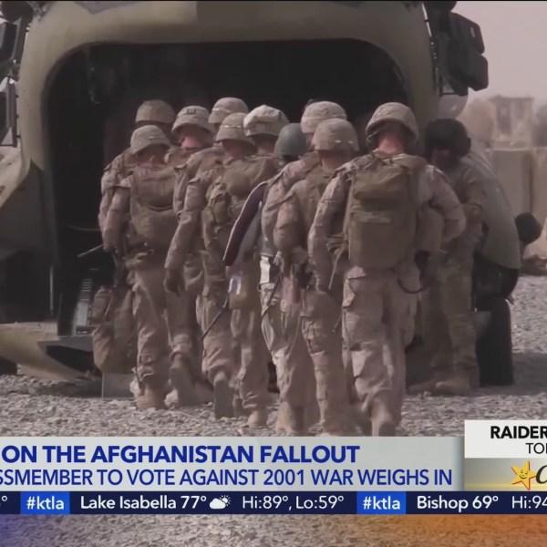 Rep. Barbara Lee reflects on Afghanistan withdrawal