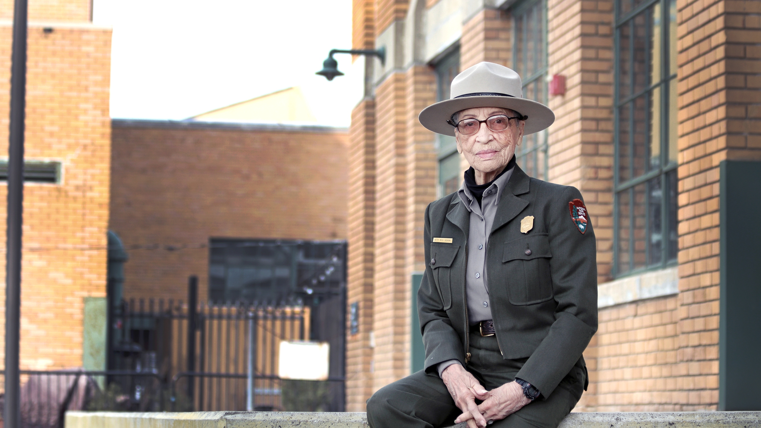 The National Park Service shared a photo of Betty Reid Soskin, the country's oldest active ranger, on Sept. 22, 2021.