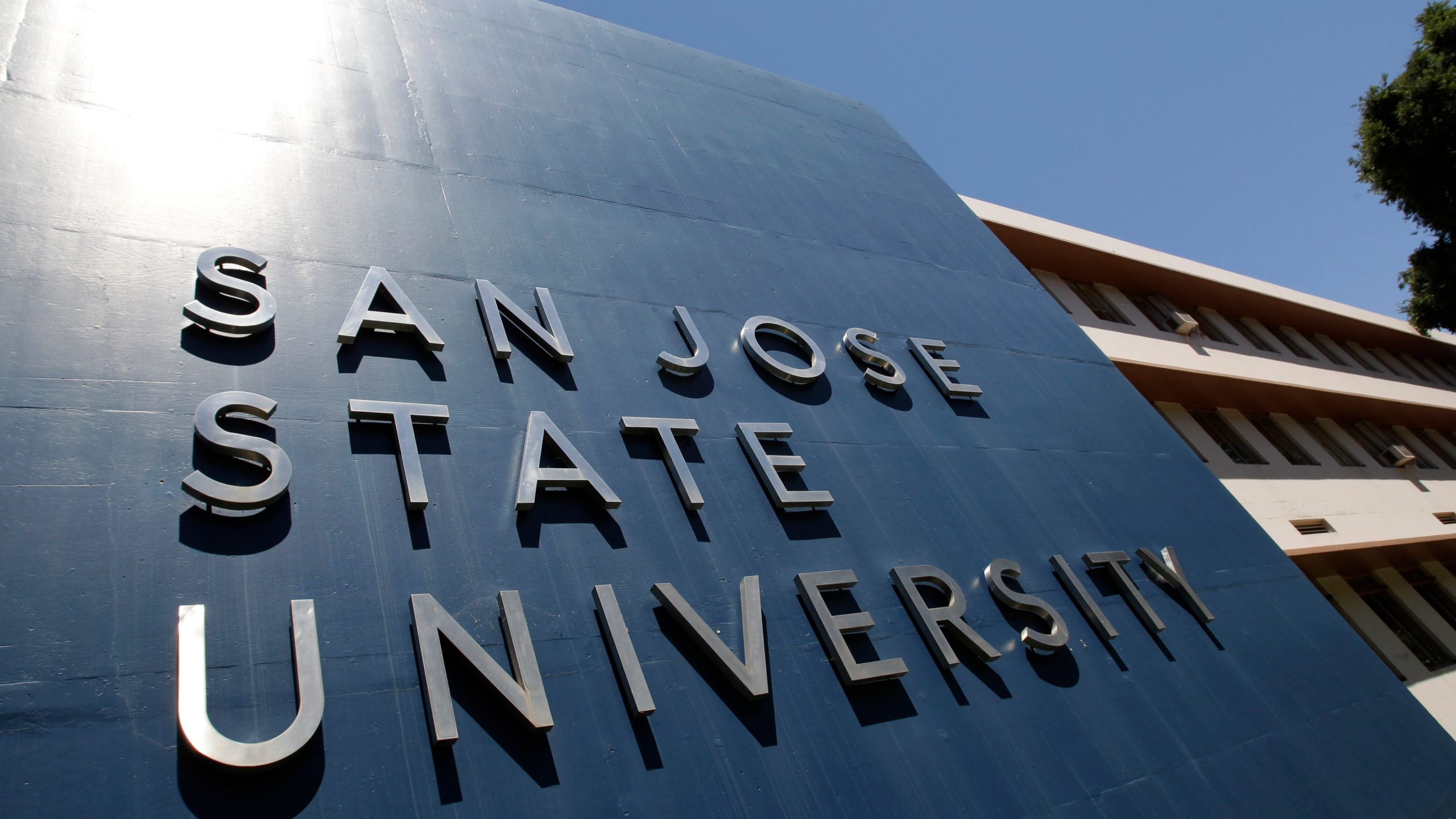 An exterior view of San Jose State University is shown in a 2011 file photo. (Paul Sakuma/Associated Press)