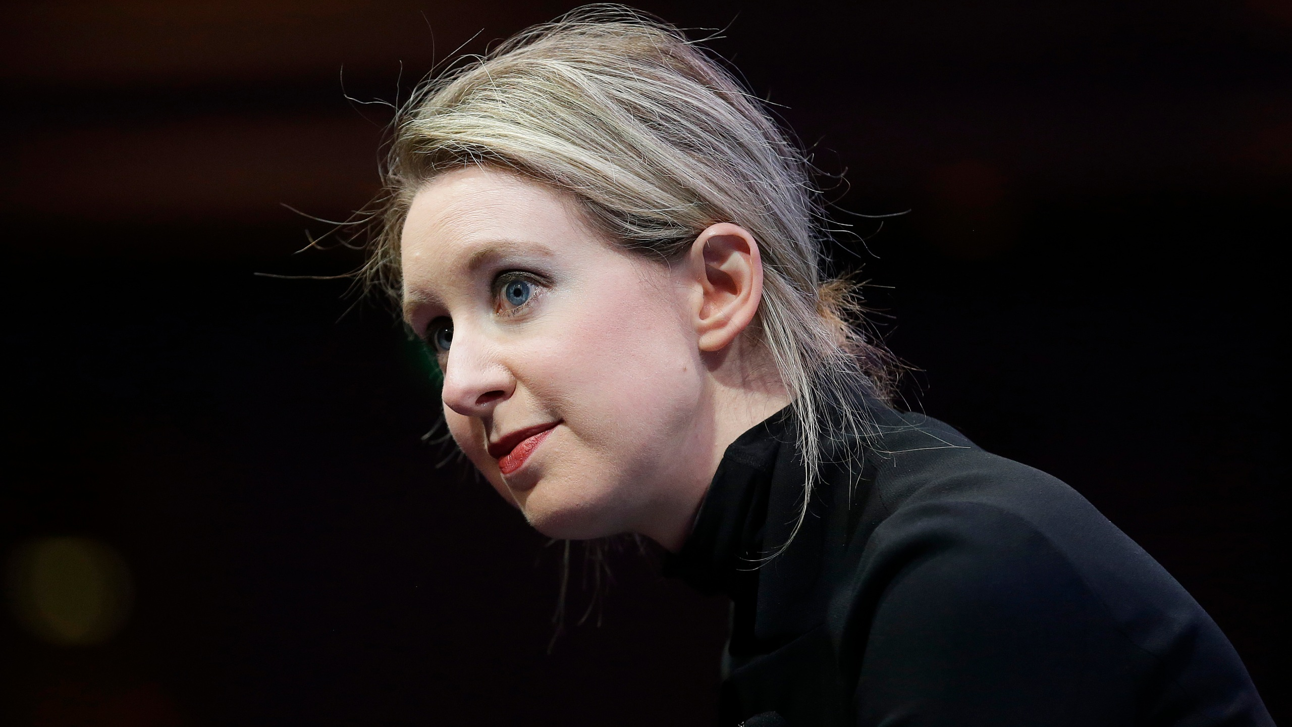 In this Nov. 2, 2015, file photo, Elizabeth Holmes, founder and CEO of Theranos, speaks at the Fortune Global Forum in San Francisco. (Jeff Chiu/Associated Press)