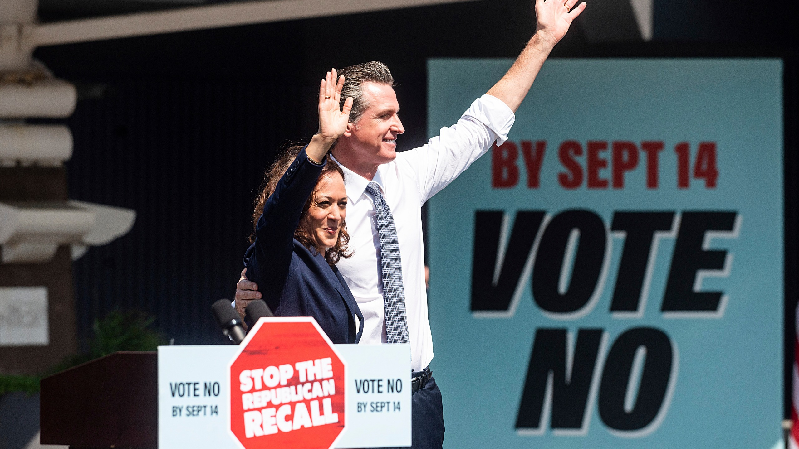 California Gov. Gavin Newsom will get a boost in the final days of a campaign that is trying to kick him out of office from the nation's most prominent Democrat: President Joe Biden. Biden will join the first-term Democratic governor in the Southern California city of Long Beach on Monday, the day before voting ends. He's the last of a string of prominent Democrats who have come to the deep-blue state to assist Newsom as he faces a recall election. Vice President Kamala Harris, a California native, campaigned alongside him Wednesday, and former President Barack Obama appeared in a campaign ad urging Californians to vote no on the recall. Biden's visit, his first to California since taking office in January, underscores the importance of his party maintaining the governorship in the nation's most populous state, which has the fifth-largest economy in the world. California has been the breeding ground for progressive policies on climate change, immigration and more. Beyond Harris, a handful of Biden's Cabinet members have roots in the state. Newsom also has been one of the most aggressive governors when it comes to the coronavirus, mandating that children wear masks in school and that health care workers get the vaccine. His restrictions on businesses and schools have been a driving force behind the recall as the pandemic remains a dominant force in American life during the first year of Biden's presidency. The visit also gives Biden a chance to demonstrate his political clout amid a difficult stretch of his presidency following the U.S. withdrawal from Afghanistan. A poll by the Public Policy Institute of California taken from Aug. 20-29 showed 58% of Californians approve of Biden's job performance. A terrorist attack in Afghanistan killed 13 U.S. service members and many more Afghans on Aug. 26. The California Republican Party criticized Harris' visit, saying it was inappropriate for her to campaign while Californians remain stuck in Afghanistan. On Thursday, an est