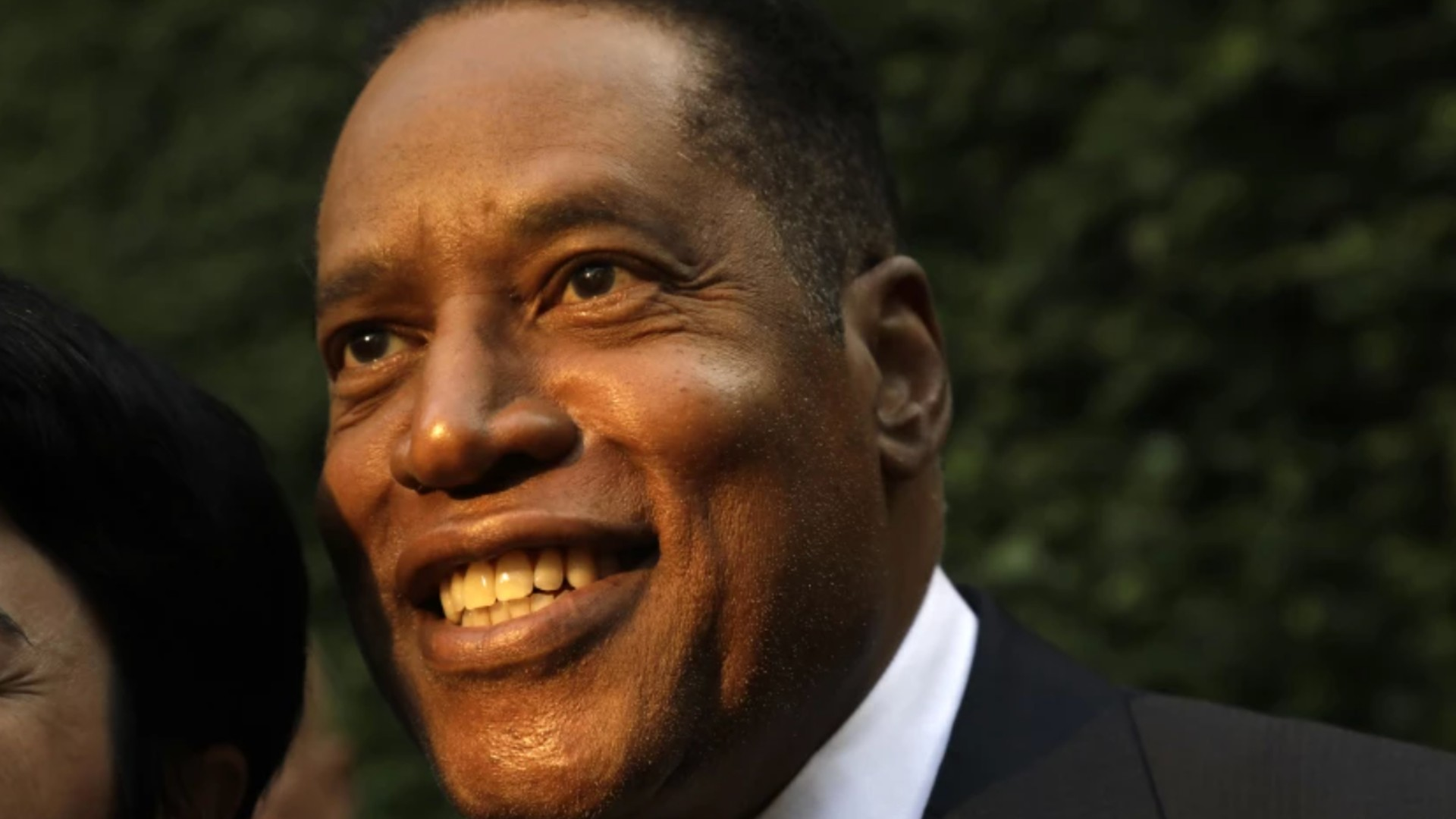 When asked to pick their first choice among the replacement candidates, 38% of likely voters preferred radio talk show host Larry Elder — up from 18% in July, a UC Berkeley Institute of Governmental Studies poll shows.(Genaro Molina / Los Angeles Times)