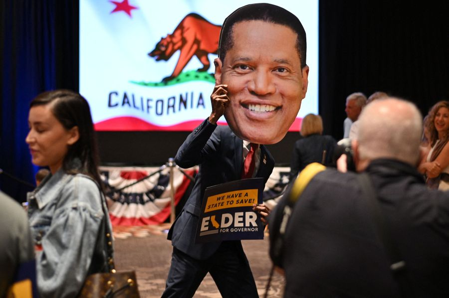 Larry Elder's showing in recall election could establish him as leader of California GOP