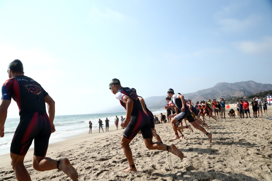 Malibu Triathlon underway to raise funds for cancer research at Children's Hospital of Los Angeles
