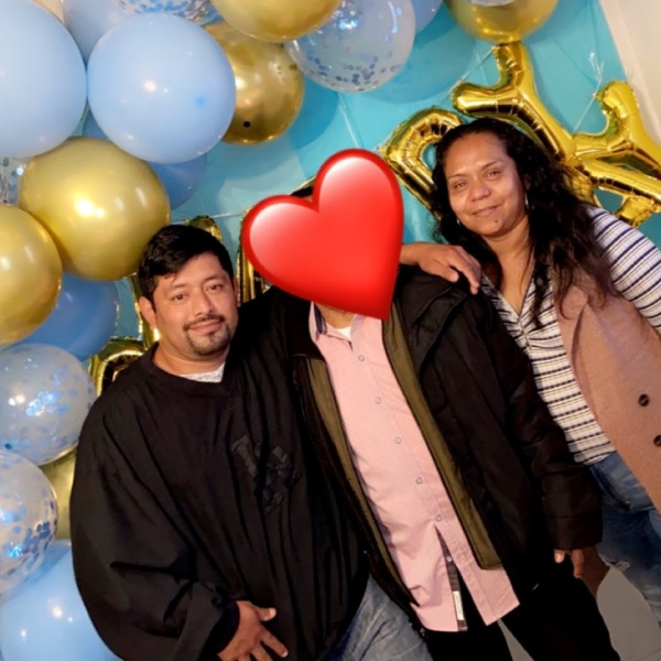 Shown in this undated photo, Juan Guizar-Gutierrez, left, and Maricela Honorato, right, were killed in Long Beach on Sept. 4, 2021. (GoFundMe)