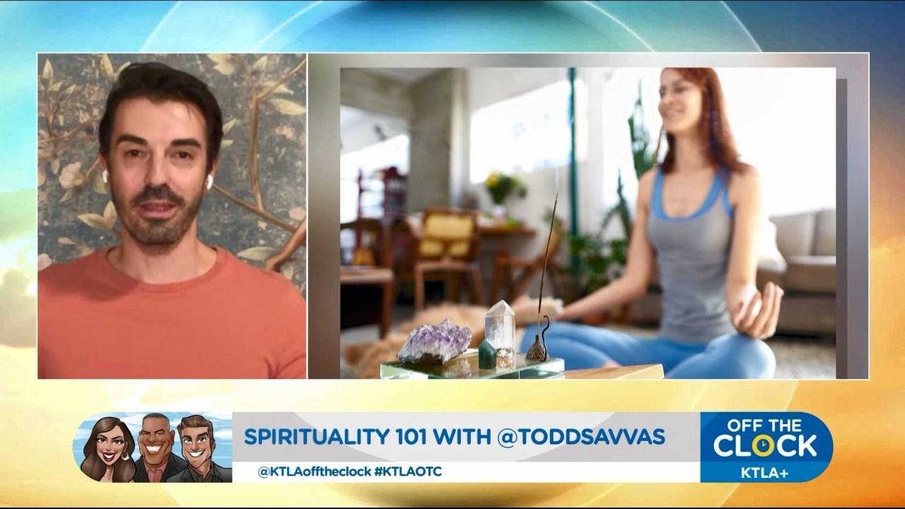 Spirituality 101: Spiritual teacher Todd Savvas explains charging crystals, mercury retrograde - KTLA