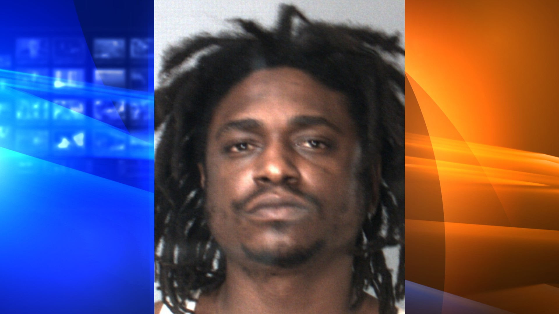 Davon Sheppard is seen in a booking photo released by the San Bernardino County Sheriff's Department.