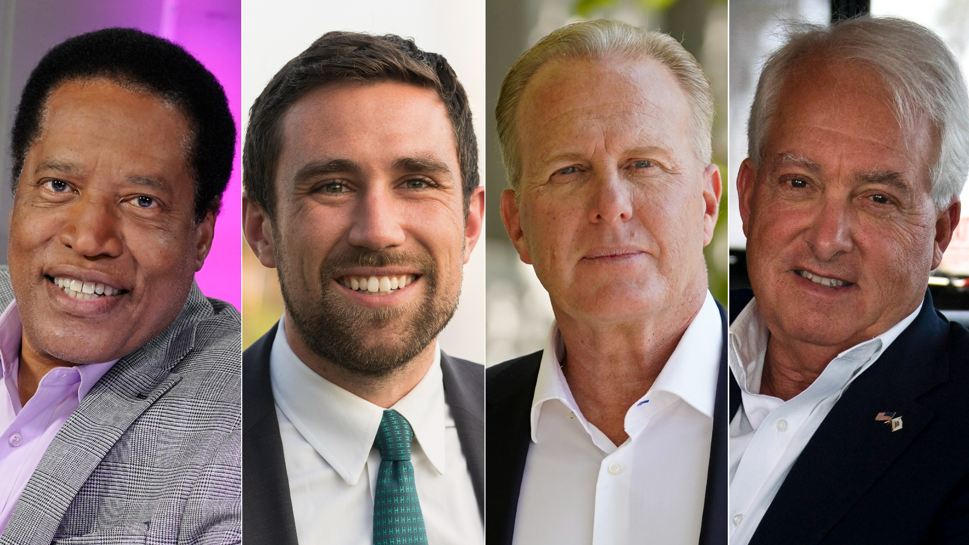 California recall: These 4 candidates are leading polls in race to replace  Gov. Gavin Newsom | KTLA