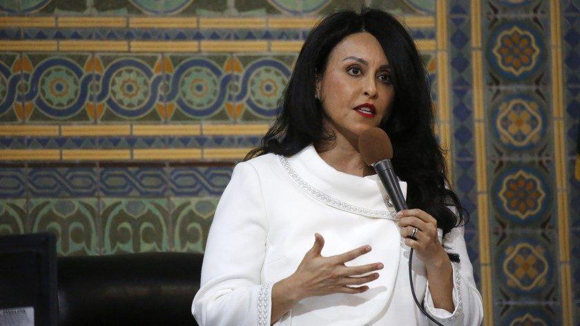 Los Angeles City Council president Nury Martinez is seen in 2020. (Al Seib / Los Angeles Times)