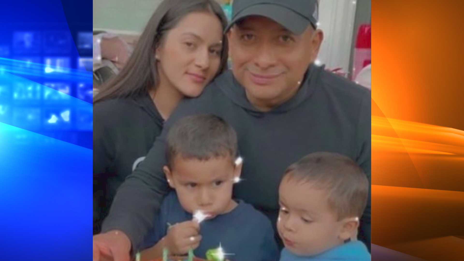 Wendy Galdamez is seen with her family in an undated photo posted to a GoFundMe page.