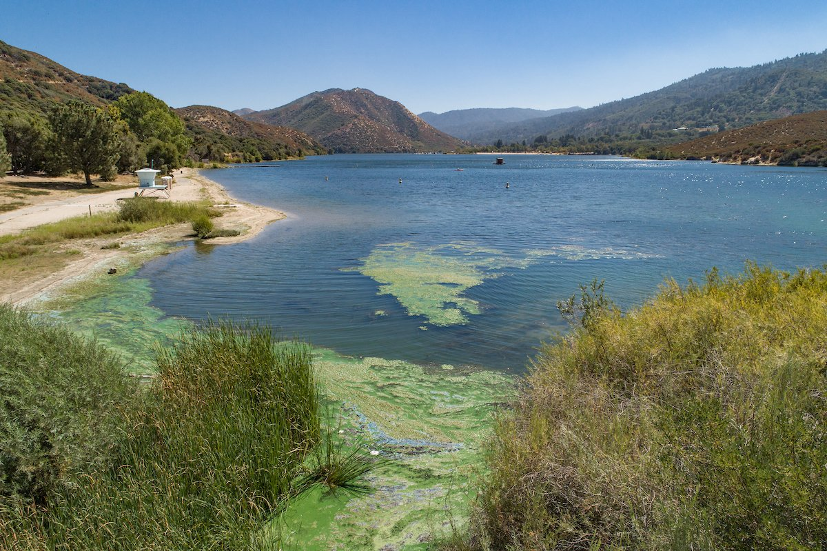 Silverwood Lake in San Bernardino County is seen in an undated photo shared by the California Department of Water Resources.