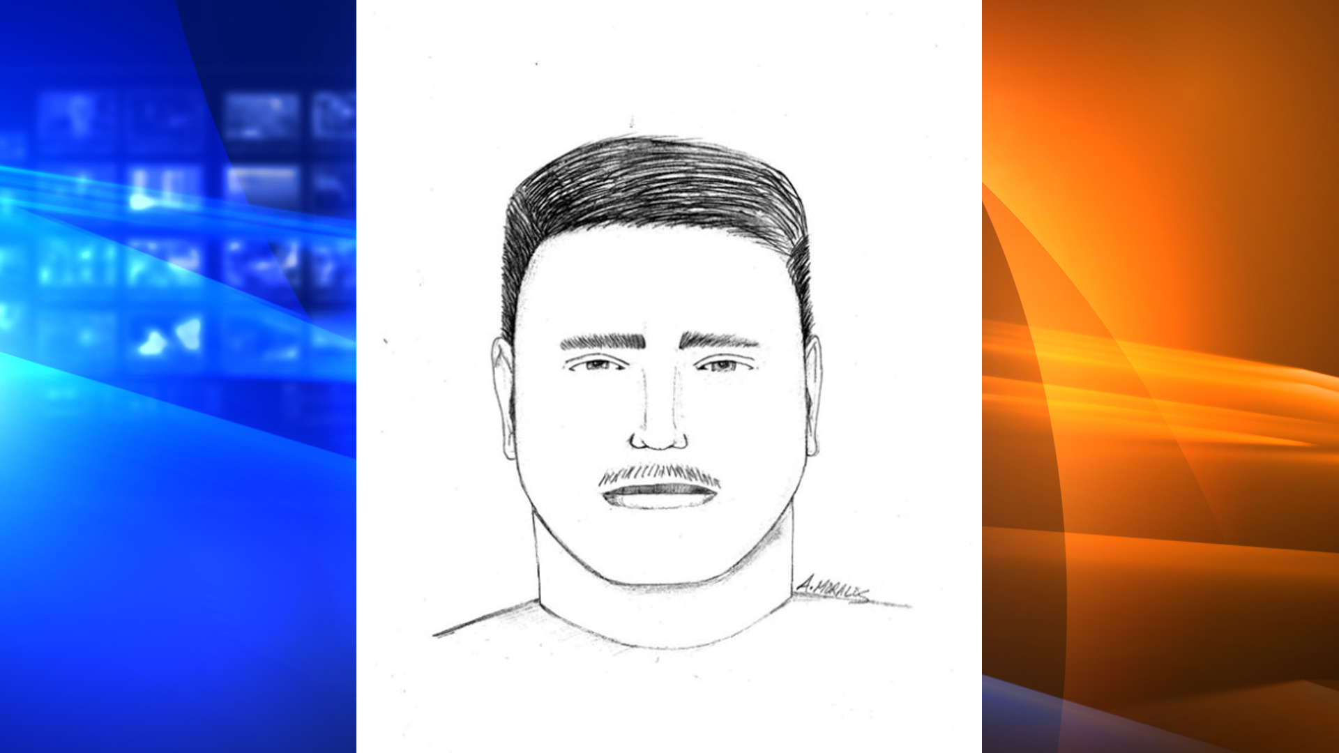 Ventura police on Sept. 3, 2021 released this composite sketch of a man who attacked a woman along a Ventura bike trail.