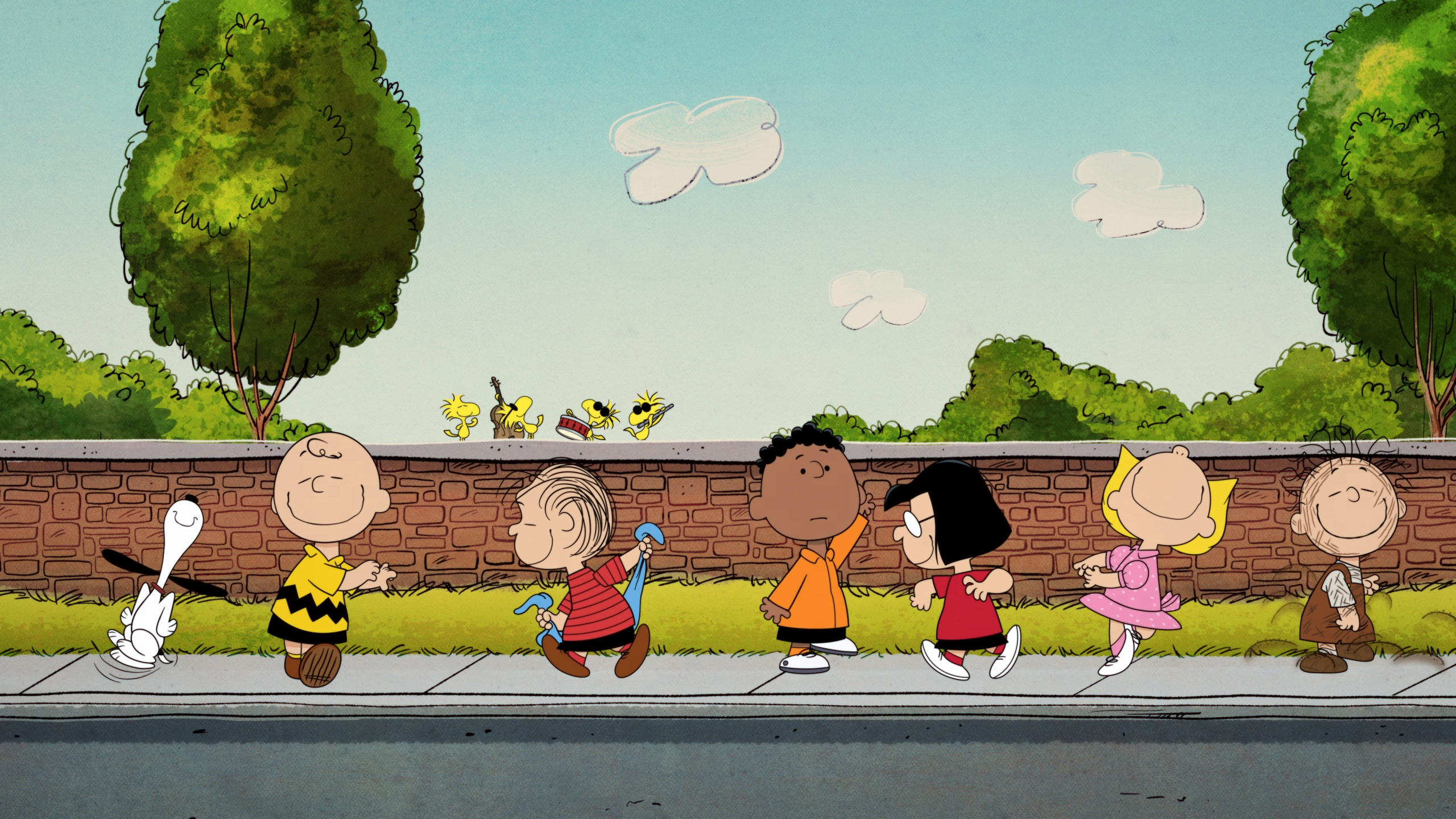 """The """"Peanuts"""" gang comes to Apple TV+ for new original shows and specials. (Image courtesy Apple TV+ Press)"""