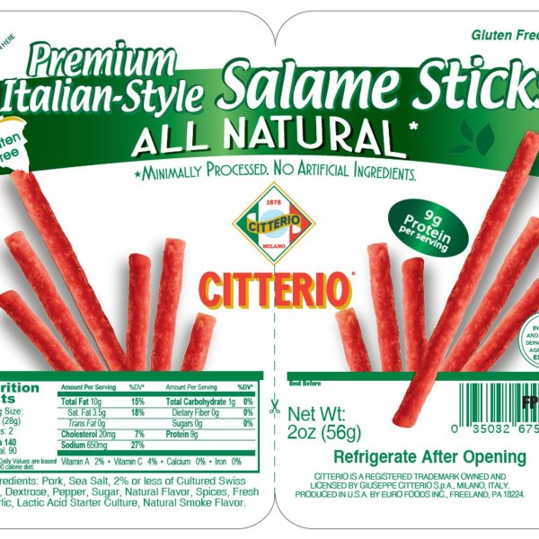 A growing salmonella outbreak in the U.S. has been linked to Citterio-brand Premium Italian-Style Salame Sticks sold at Trader Joe's, the Centers for Disease Control and Prevention announced Saturday, Oct. 23, 2021. (Photo released by the Centers for Disease Control and Prevention)