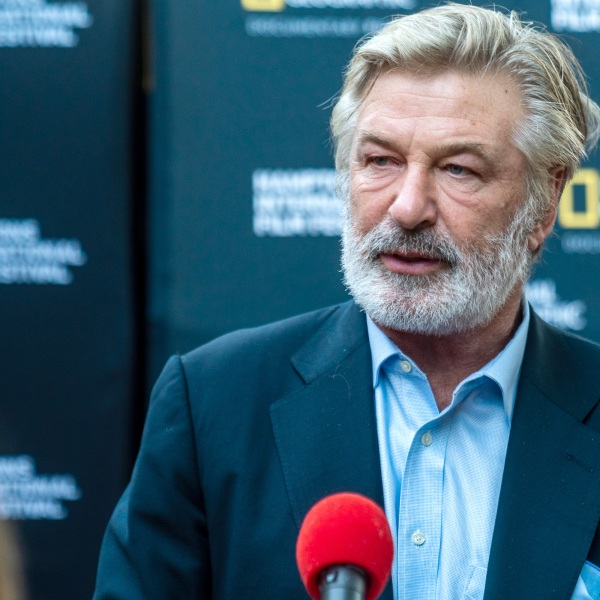 Hamptons International Film Festival Chairman, Alec Baldwin attends the World Premiere of National Geographic Documentary Films' 'The First Wave' at Hamptons International Film Festival on October 07, 2021 in New York. (Mark Sagliocco/Getty Images for National Geographic)