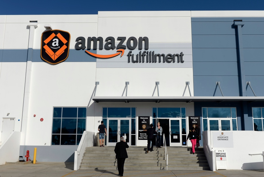 Amazon to employ 150,000 jobs — 23,000 in California — with an average hourly wage of $ 18, login bonus