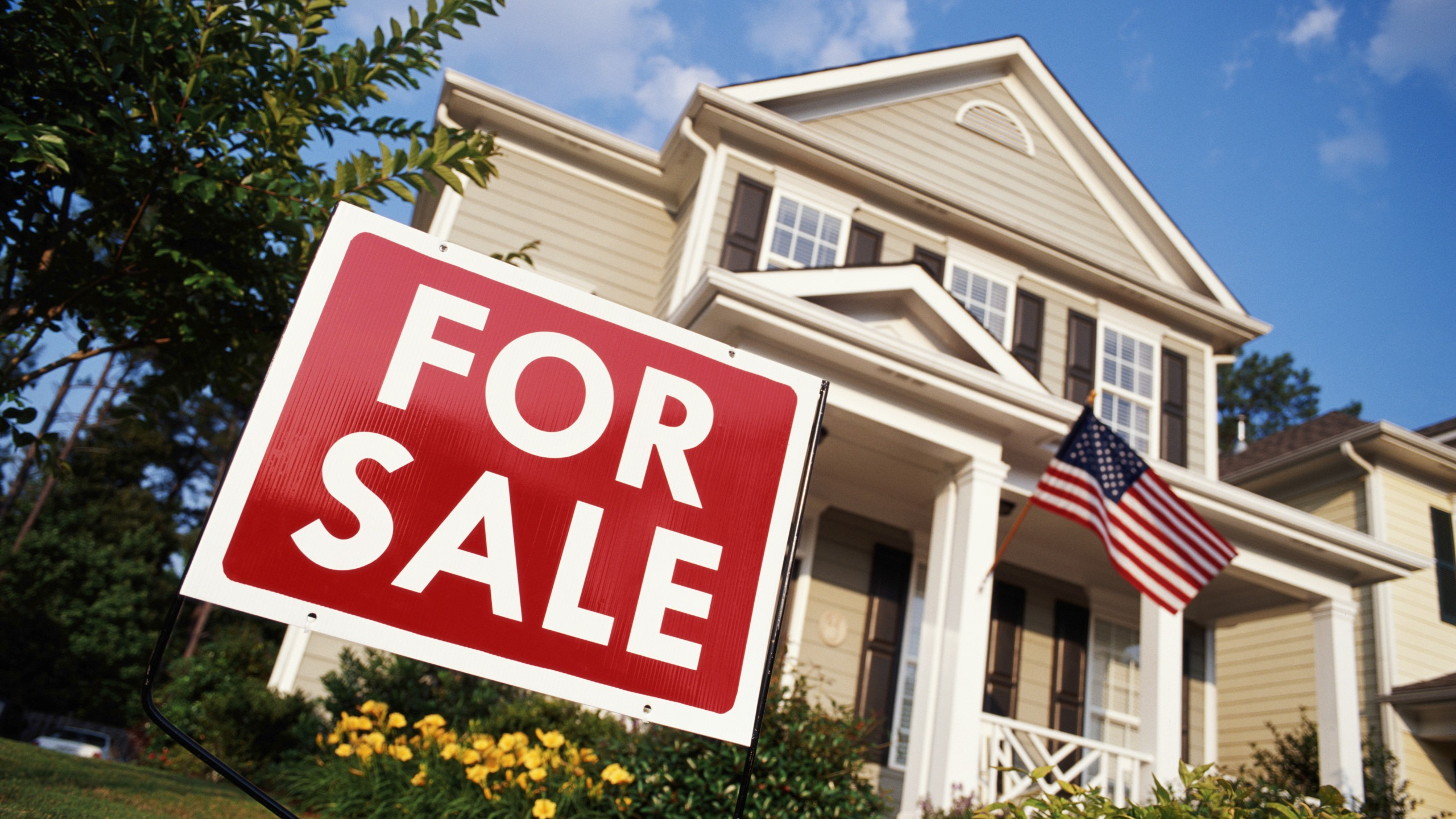 This file photo shows a home for sale. (Getty Images)