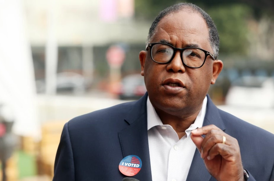 Los Angeles City Councilman Mark Ridley-Thomas, shown in this undated photo, was indicted on federal conspiracy, bribery and fraud charges for allegedly taking bribes from USC officials in exchange for L.A. County contracts when he was on the County Board of Supervisors.(Dania Maxwell/Los Angeles Times)