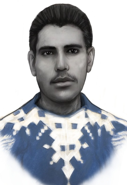 Police released this sketch of the man being sought in connection with the 1998 shooting.