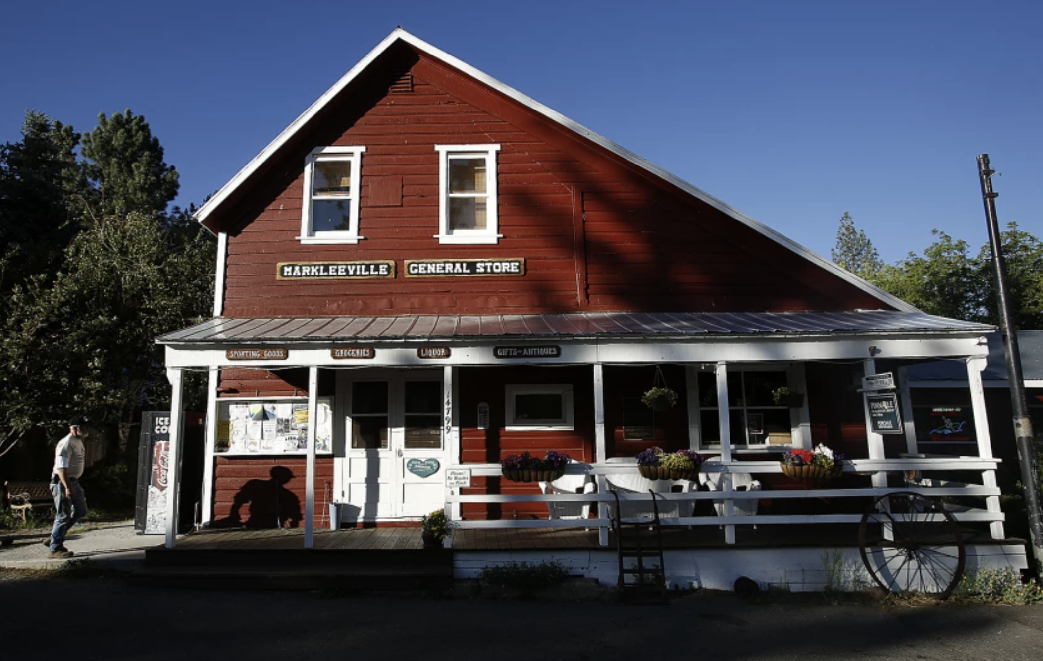 The Markleeville General Store is seen in June 2014 in Alpine County.(Mel Melcon / Los Angeles Times)