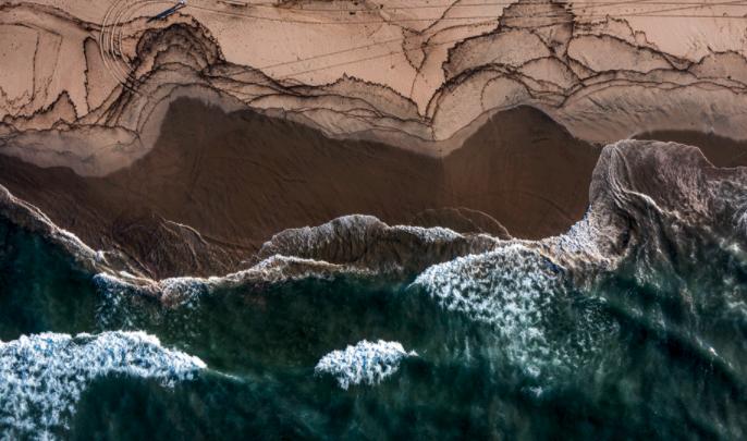 View of Orange County coastline. (Allen J. Schaben/Los Angeles Times)
