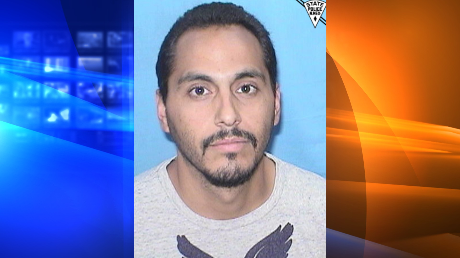 Armando Zamora is seen in a photo released by New Mexico State Police.