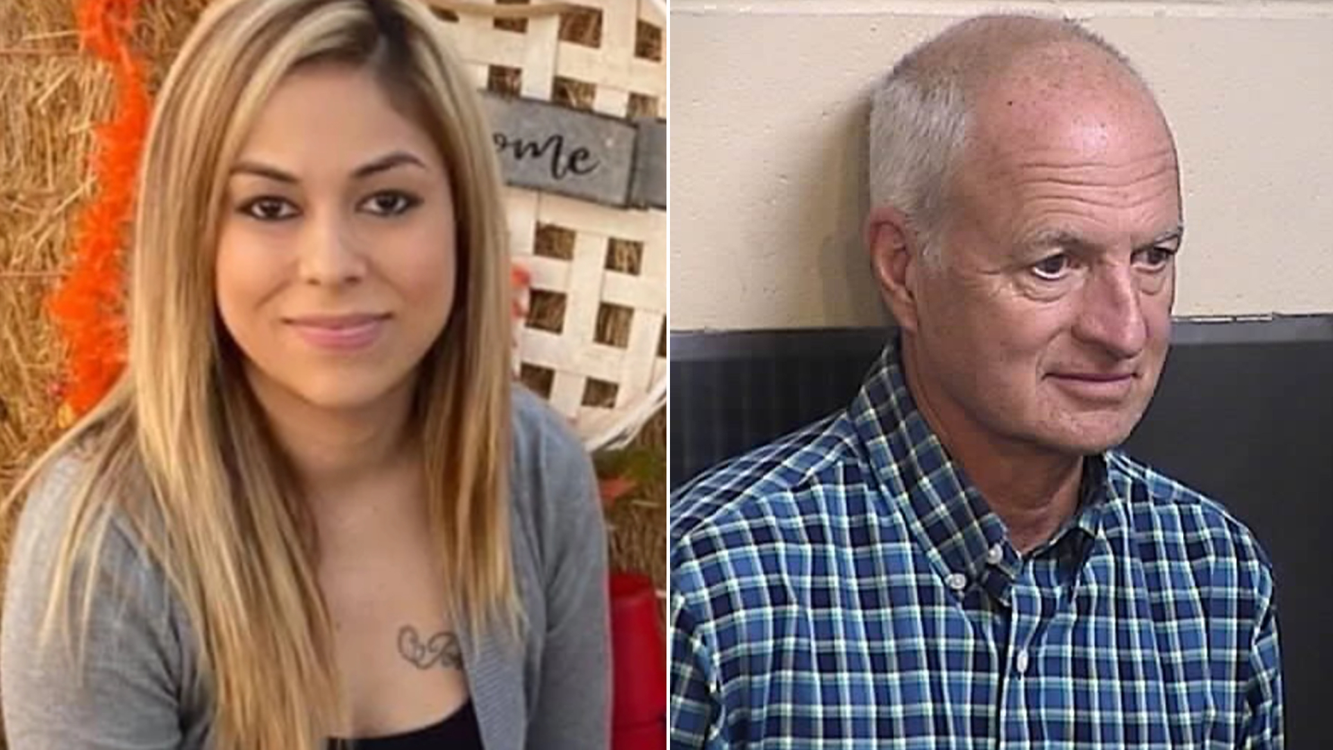 Juliana Ramos, left, and James Comazzi are seen in photos provided by family and authorities to KGPE/KSEE.